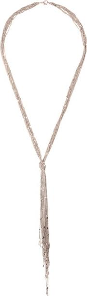Rose Gold Allie Knot Necklace