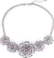 Silver Leena Necklace