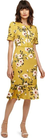 Yellow Hilary Floral Dress