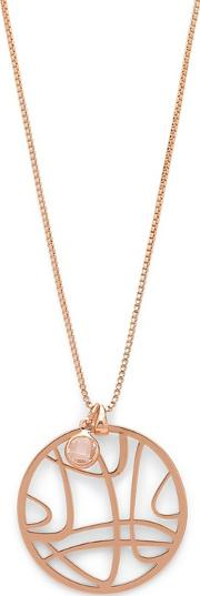 Rose Gold Plated zora Necklace
