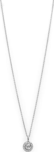 Silver Plated clementine Crystal Pendant Necklace