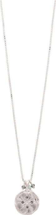 Silver Plated mya Long Necklace