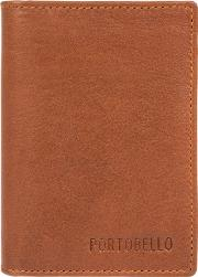 Tan deano Rfid Business Card Wallet