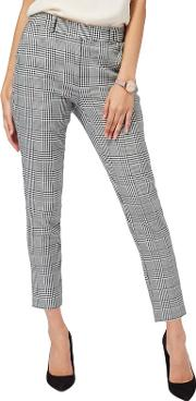 Black Houndstooth Trousers