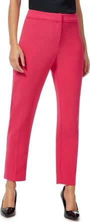 Bright Pink Suit Tapered Trousers