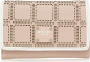 Light Pink Cut Out Flap Over Wallet