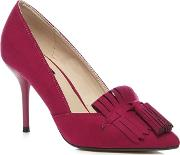 Pink High Stiletto Heel Court Shoes