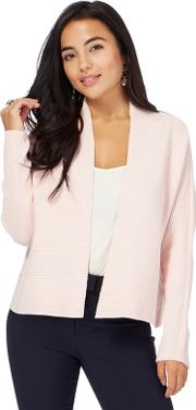 Light Pink Edge To Edge Petite Cardigan