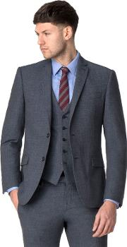 Airforce Textured Tailored Jacket