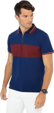 Big And Tall Bright Blue Polo Shirt