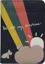Leather you Are My Sunshine Passport Cover
