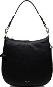 Pudding Lane Large Zip Top Hobo Bag