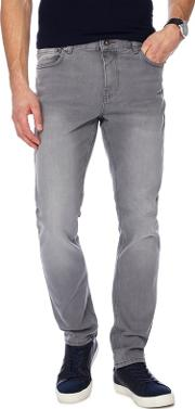 Big And Tall Grey Skinny Jeans