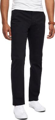Black Slim Leg Chinos