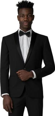 Black Tuxedo Slim Fit Jacket