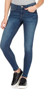 Blue holly Supersoft Ultra Stretch Skinny Jeans