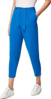 Bright Blue Crepe Trousers