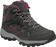 Black Lady Clydebank Walking Boots