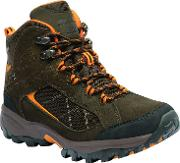 Brown Lady Clydebank Walking Boots