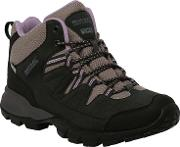 Dusky Pink Lady Holcombe Mid Walking Boot