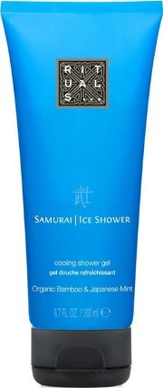 samurai Cooling Shower Gel 200ml