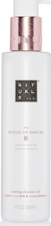the Ritual Of Sakura Shower Oil 200ml