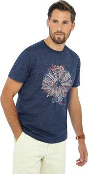 Big And Tall Navy Embroidered Tailored Fit T Shirt