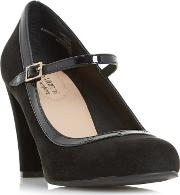 Black arora Mary Jane High Heel Shoes