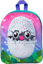 Hatchimals Embroidered Plush Backpack