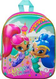 Shimmer N Shine Luxury High Gloss Eva Backpack
