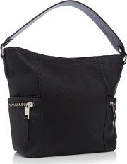 Nine By  Miller Black suze Stud Hobo Bag