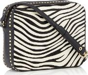 Nine By  Miller Multicoloured Zebra evie Cross Body Bag