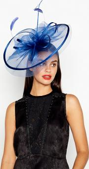 Blue Statement Fascinator