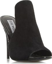 Black Suede sinful  High Mules