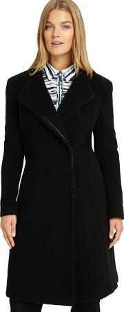 Sizes 12 26 Black Victoria Wool Coat
