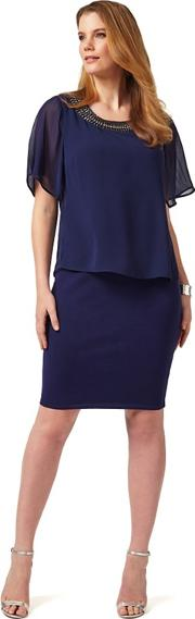 Sizes 12 26 Navy Harley Dress