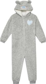 Girls Grey me To You Onesie
