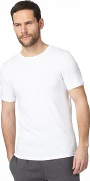 Big And Tall Pack Of Two White T Shirts