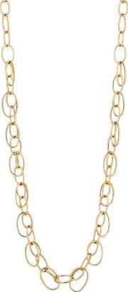 Gold Multi Link Long Necklace