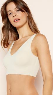 Natural Padded Lounge Crop Top