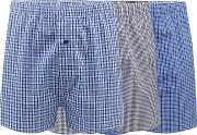 Pack Of Three Assorted Checked Boxers