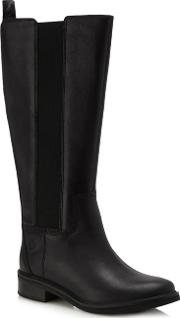 Black mont Chevalier Knee High Boots