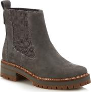 Grey Nubuck courmayeur Valley Chelsea Boots