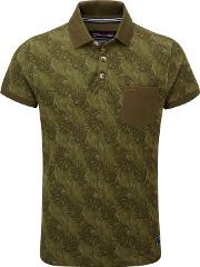 Military Green Devlin Polo Shirt