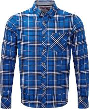 Ocean Check Neville Long Sleeve Shirt