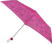 Pink Floral Ditsy Print supermini 3 Section Umbrella