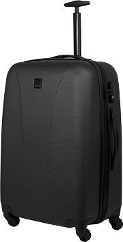 Black lite 4 Wheel Medium Suitcase