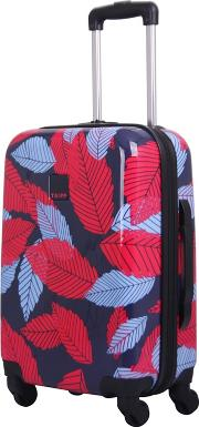 Blue leaf Hard Cabin 4 Wheel Suitcase