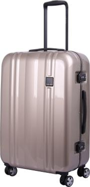 Bronze absolute Lite Ii Frame 4 Wheel Medium Suitcase