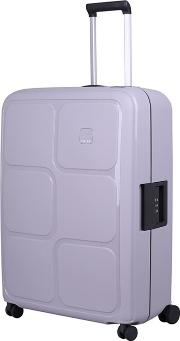Dove Grey superlock Ii 4 Wheel Large Suitcase